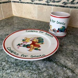 Disney Winnie The Pooh Christmas Cookies For Santa